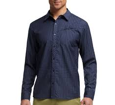 icebreaker departure ls shirt navy camerons clothing store