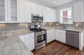 Backsplash Wallpaper For Kitchen Appliances Wallpaper Tile Backsplash Ideas For White Kitchen
