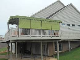 deck awning ideas doherty house how to build deck awning