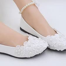 wedding white shoes custom white lace pearls wedding shoes beautiful foot