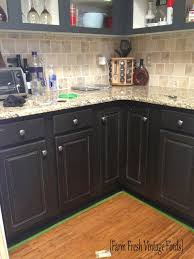Graphite Kitchen Cabinets Painting Thermofoil Cabinets The Reveal Farm Fresh Vintage Finds