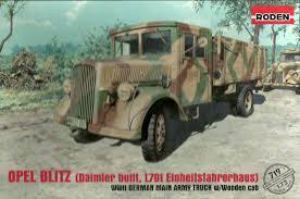 german opel blitz truck mckeeman models