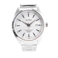 Jam Tangan Alba Putih jual alba ag8389x1 jam tangan pria silver stainless steel 5