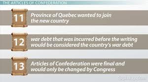 the articles of confederation summary u0026 analysis video u0026 lesson