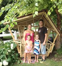 Backyard Play House Royal Run Family Bonds Building Unique Backyard Playhouse