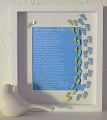 footprints in the sand gifts paper footprints in the sand poem personalised framed