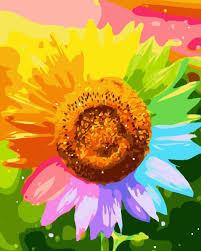 foto wallpaper bunga matahari sketsa bunga matahari warna wallpaper keren