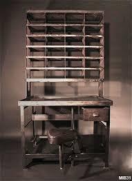 bureau tri postal postal sorting office circa 1950 perforated lockers can