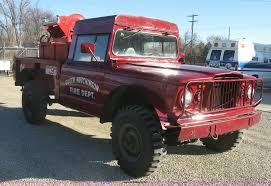 jeep brush truck 1968 kaiser jeep m715 fire truck item j2962 sold februa