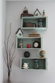 Wooden Wall Shelf Designs by How To Upcycled Dresser Drawers Into Shelves Painted Furniture