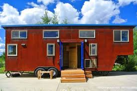 Rusted Mountain Roost Gooseneck Trailer Tiny House Tiny House Plans For A Gooseneck Trailer