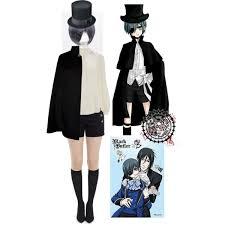 ciel phantomhive black butler easy cosplay halloween costume