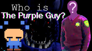 Who Is Who Is The Purple Five Nights At Freddy S Theory