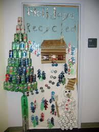 holidays recycled christmas classroom door decoration
