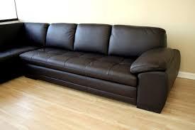 2 Piece Leather Sofa by Baxton Studio Abriana 2 Piece Dark Brown Leather Sofa Sectional