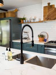 fixer blue kitchen cabinets hgtv fixer brick house is world charm for newlyweds