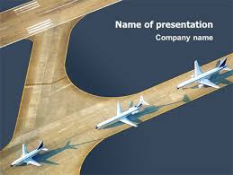 airport powerpoint template free download airport jet travel