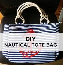 nautical tote diy nautical tote bag because of reasons