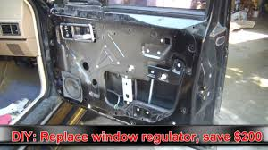 diy auto replace your power window assy and pocket 200 youtube