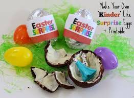 where to buy chocolate eggs with toys inside make your own kinder like eggs printable time
