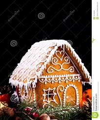 gingerbread house and decor stock photo image 35128458