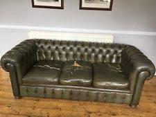 vintage chesterfield sofa leather chesterfield sofa ebay