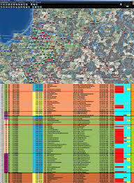 Lat Long Map Re Planning Map On A Zoom 2 Map