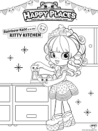 coloring pages to print shopkins print shopkins happy places coloring pages bv printable free