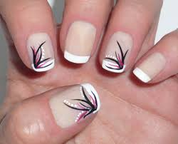 elegant french manicures