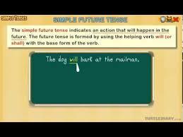 simple future tense grammar lesson for grade 3 youtube