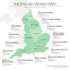 Map Of Yorkshire England by The English Whisky Map U2014 Cooper King Distillery