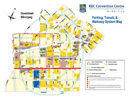 Winnipeg Map Parking Rbc Convention Centre Winnipegrbc Convention Centre Winnipeg