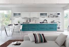 cuisine bleue et blanche couleur pour cuisine 105 idées de peinture murale et façade