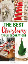 the best christmas table setting decorations christmas table