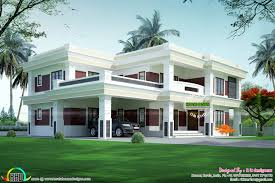 guest house designs flat roof house design by sachin k kerala home and momchuri
