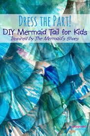 dress diy mermaid tail kids