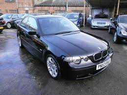 used bmw 3 series uk used bmw 3 series 2003 black paint petrol 316ti sport 3dr