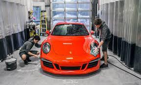 orange porsche 911 lava orange porsche c4 gts new car detail at nwas