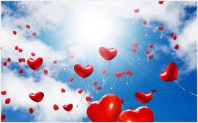 heart shaped balloons heart shaped balloons flying wallpaper heart shaped balloons