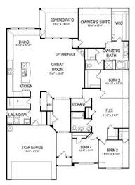 floor plan for new homes showing floor of new built to order home plan a 2089