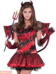 Halloween Devil Costumes Girls Teen Stuff Devil Costume Childs Halloween Fancy Dress