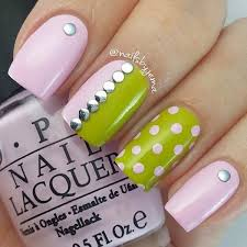 40 elegant and amazing green nail art designs that will inspire