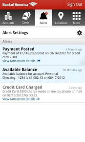 bank of america app for android tablets bank of america app gets a big update to v5 0 with a new ui