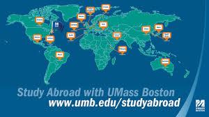 Umass Campus Map Study Abroad Through Umass Boston Youtube
