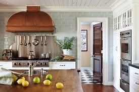 Copper Backsplash Kitchen Shimmery Copper Backsplash Tiles Design Ideas