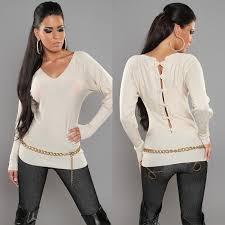 trendy sweaters sweater met v hals truien