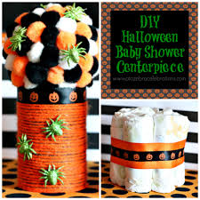 halloween themed diaper cakes diy halloween baby shower centerpiece u2013 a to zebra celebrations