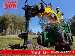 heavy duty 4 way swing mini auger drive unit suit mini dingo
