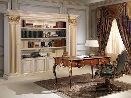 bureau classique bureau et fauteuil louis xv avec bibliothèque classique
