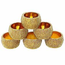 amazon com napkin rings home u0026 kitchen